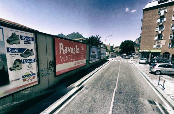 Lecco, via Digione: 4 postazioni
