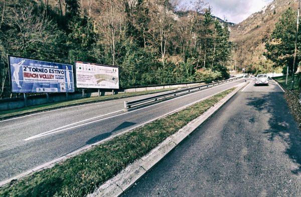 Lecco, via Valsassina: 2 postazioni